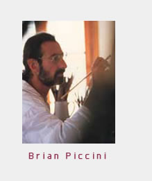 Brian Piccini - Artist of Mykonos, Greece