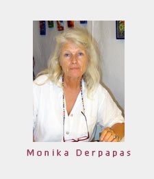 Monika Derpapas - Artist of Mykonos, Greece